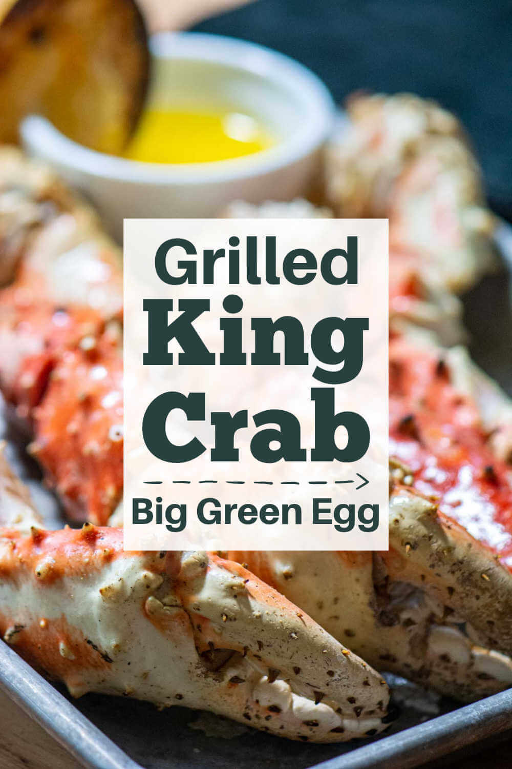 Grilled King Crab Legs {15 Minutes}