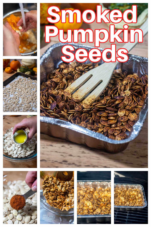 Cajun Smoked Pumpkin Seeds {60 Minutes}