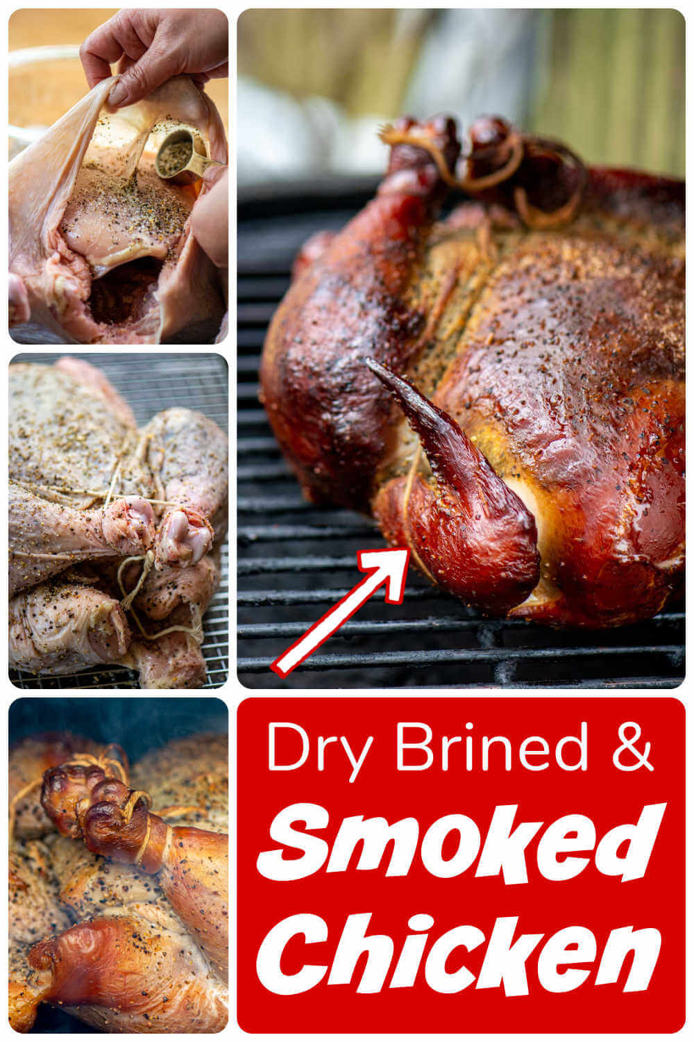 How to Smoke a Dry Brined Whole Chicken