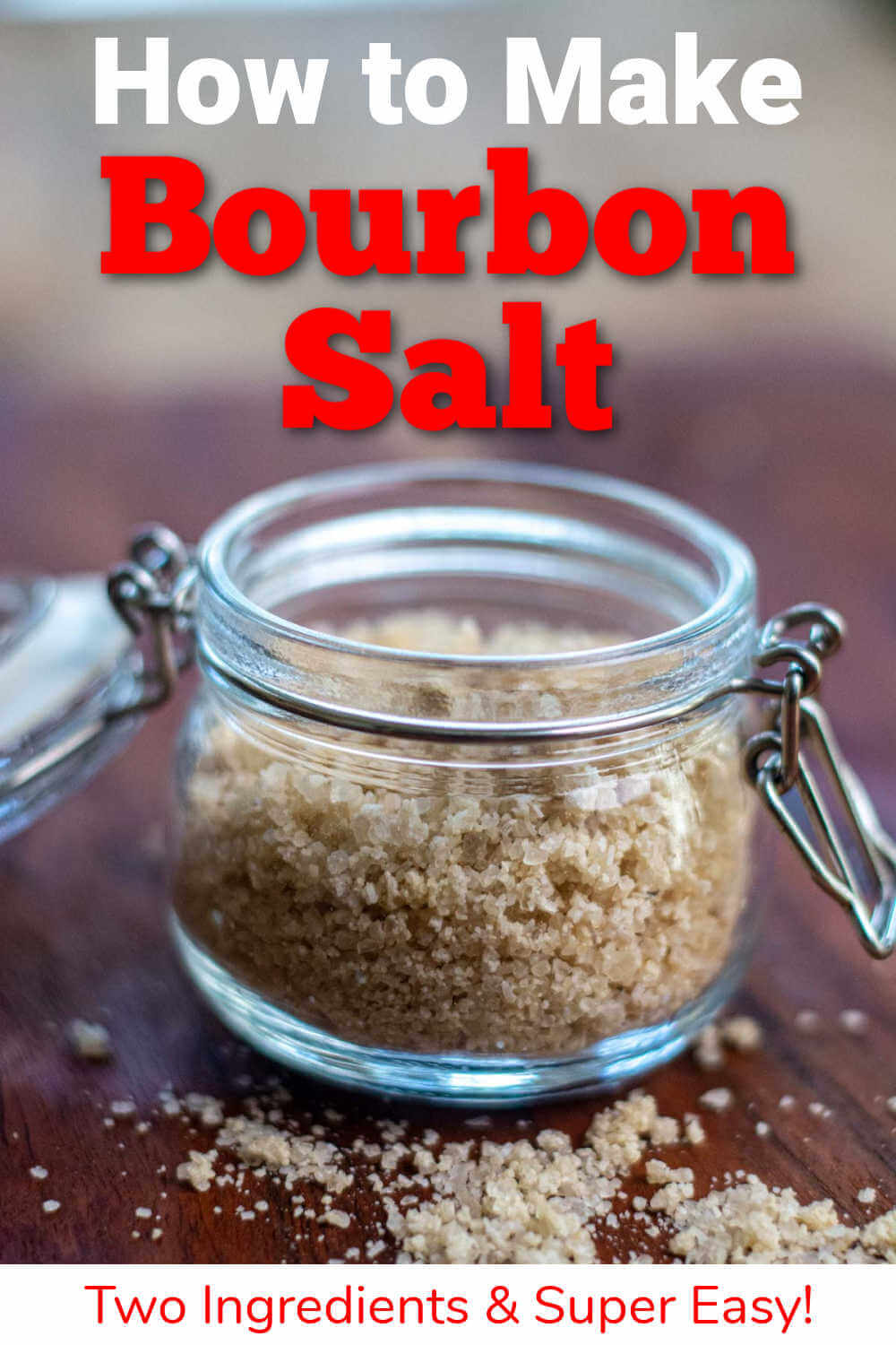 How to Make Bourbon Salt