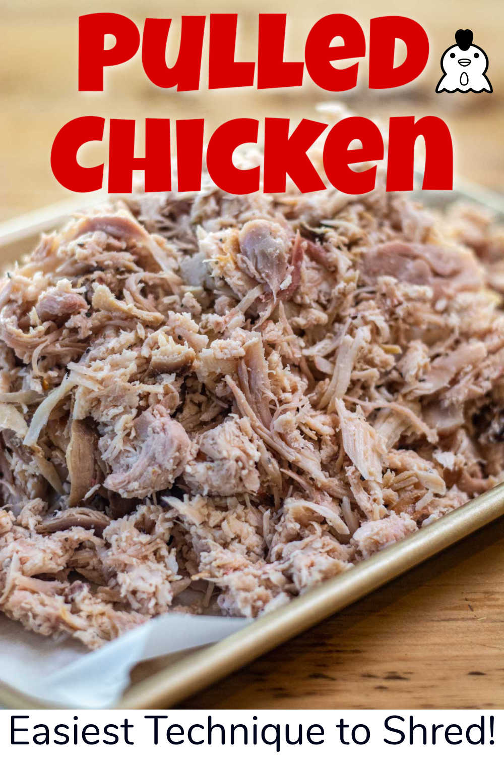 Pulled Smoked Chicken {10 Minutes}