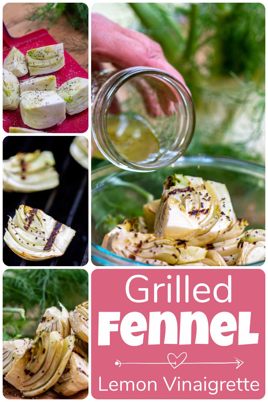 Grilled Fennel with Lemon Vinaigrette {10 Minutes}