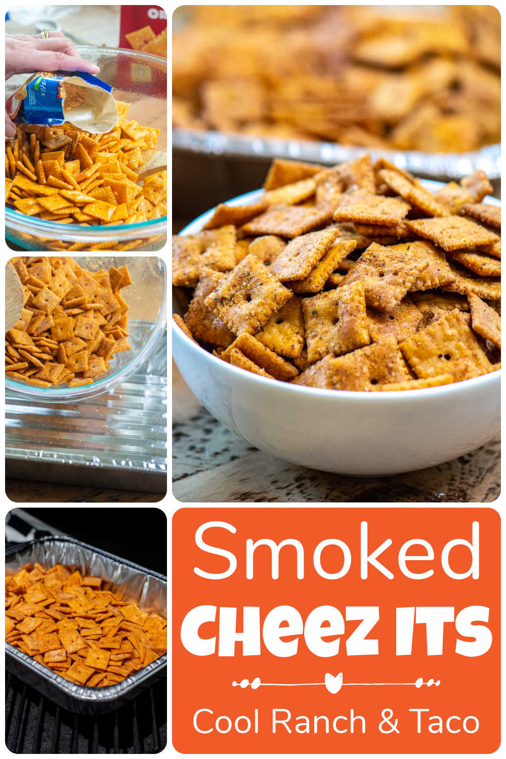 Queso Ranch Smoked Cheez Its {One Hour}