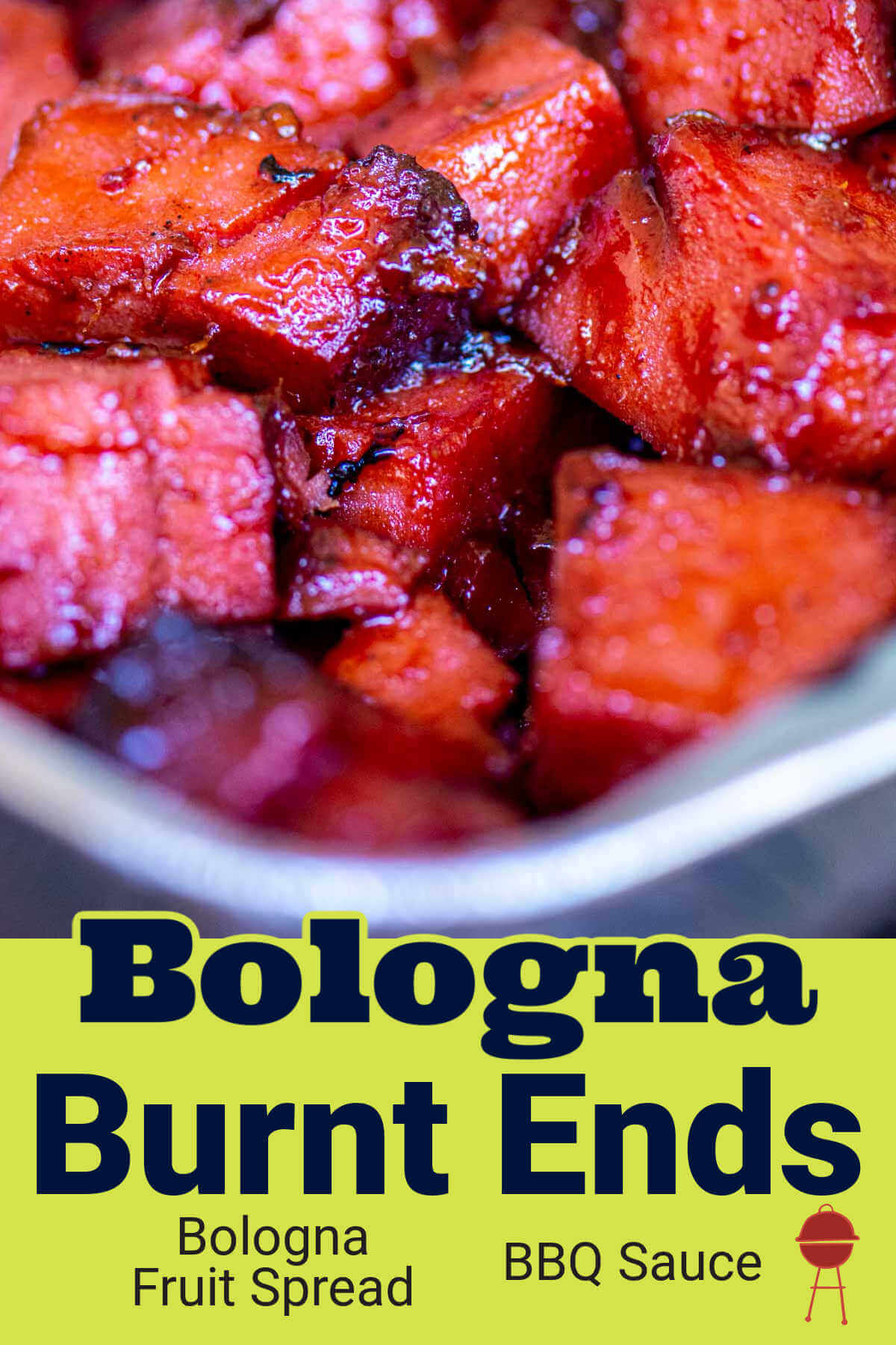 Smoked Bologna Burnt Ends {20 Minutes}
