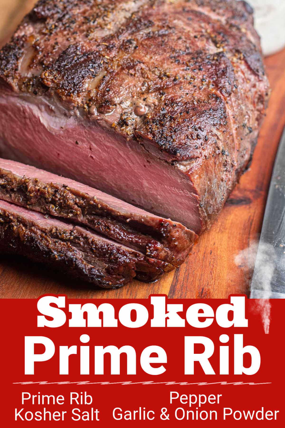 How to Smoke a Prime Rib