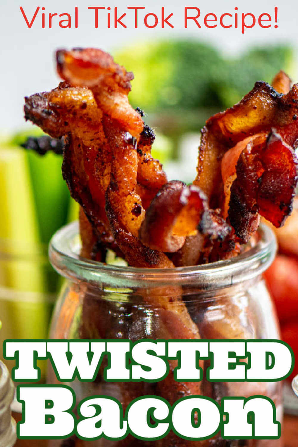 Grilled Twisted Bacon {30 Minutes}